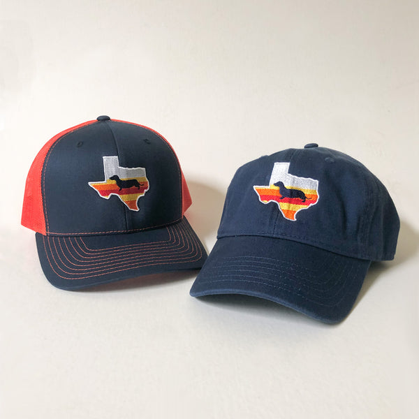 Space City Texas Doxie Hats