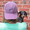 "American Doxie ""Red, White, & Blue"" Baseball Cap"