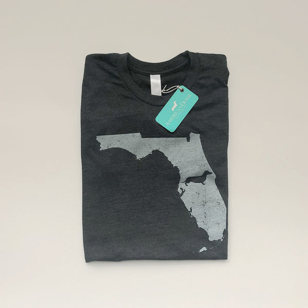 Doxie State Pride Series: Florida State Doxie Tee