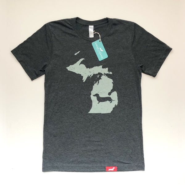 Doxie State Pride Series: Michigan State Doxie Tee