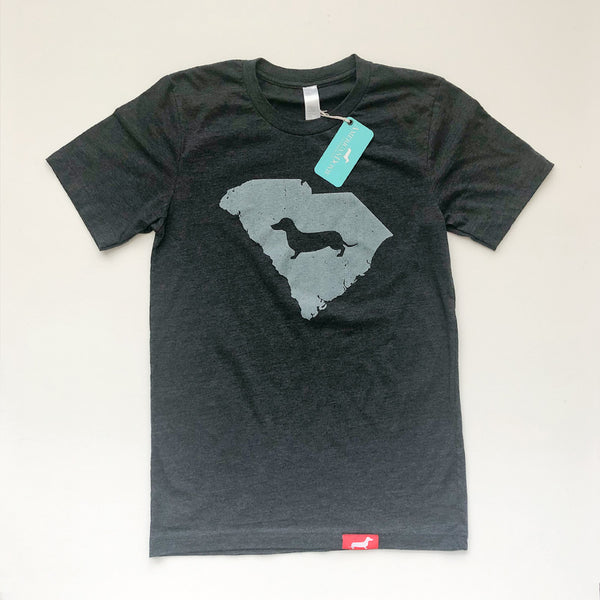 Doxie State Pride Series: South Carolina State Doxie Tee