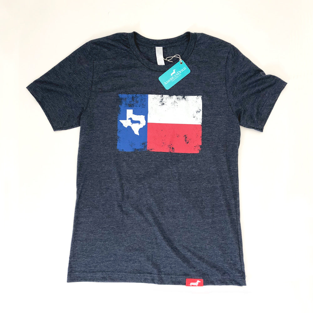 Texas Doxie Flag Tee Shirt