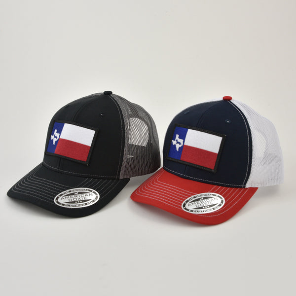 Texas Doxie Flag Trucker Hat