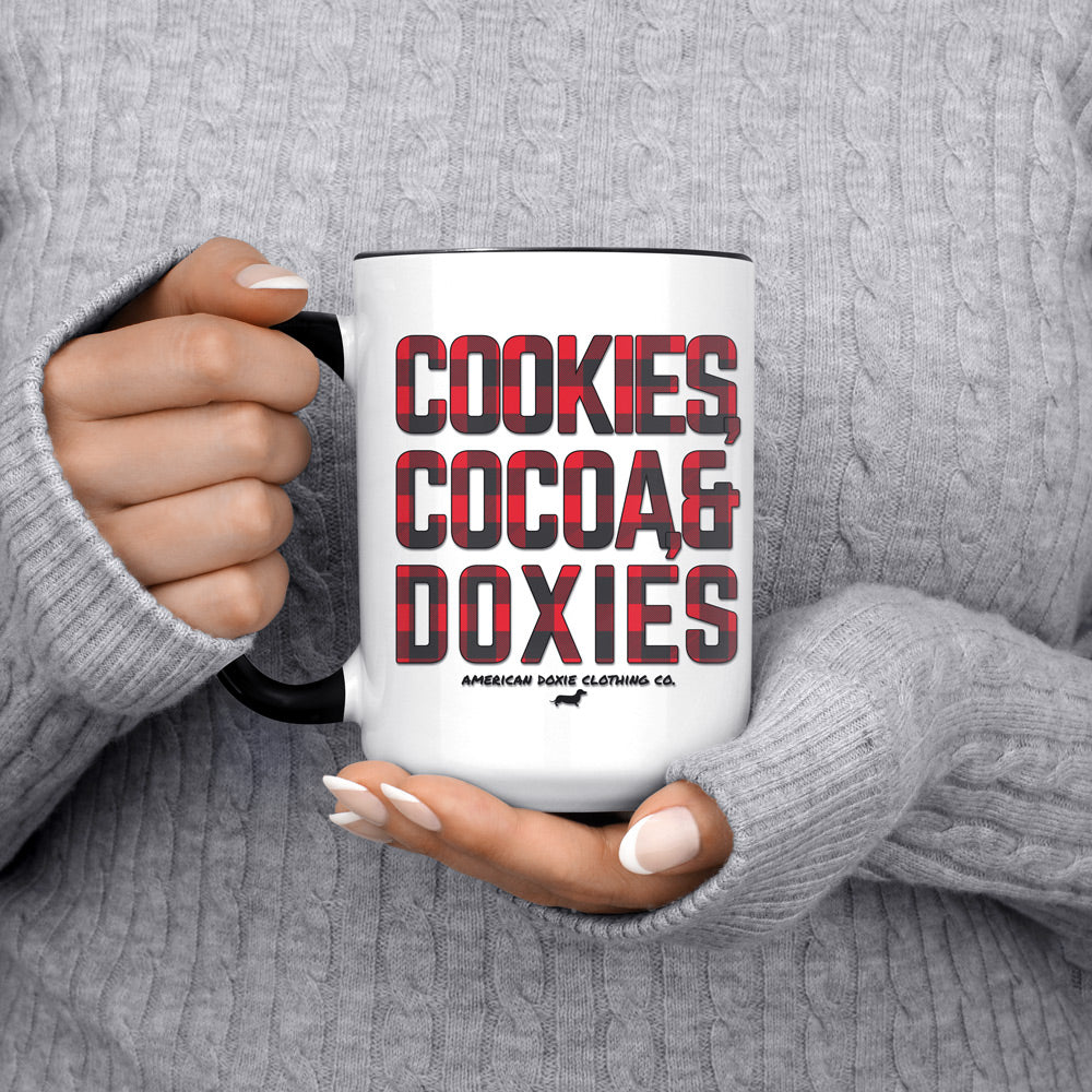 """NEW"" Doxie Winter Essentials Jumbo Mug"
