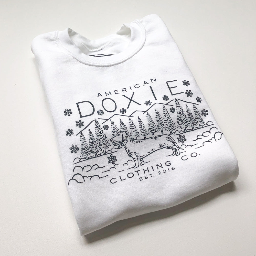 """NEW"" American Doxie Winter Season Series Sweatshirt"