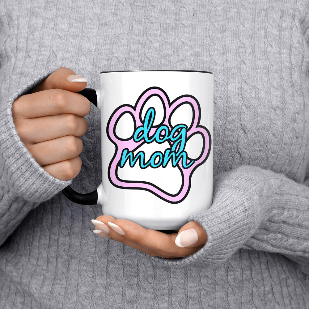 "American Doxie ""Dog Mom"" Jumbo Mug"