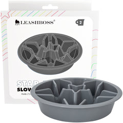 Slow Feed Dog Bowl for Raised Pet Feeders