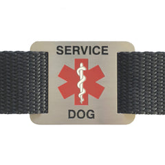 Service Dog Tag for Collars