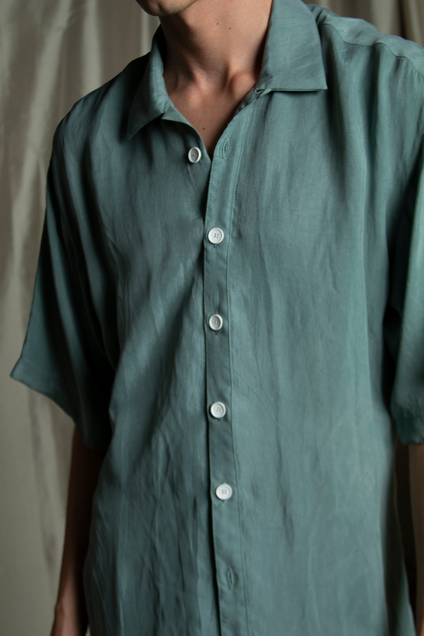 TEAL CRUISE SHIRT