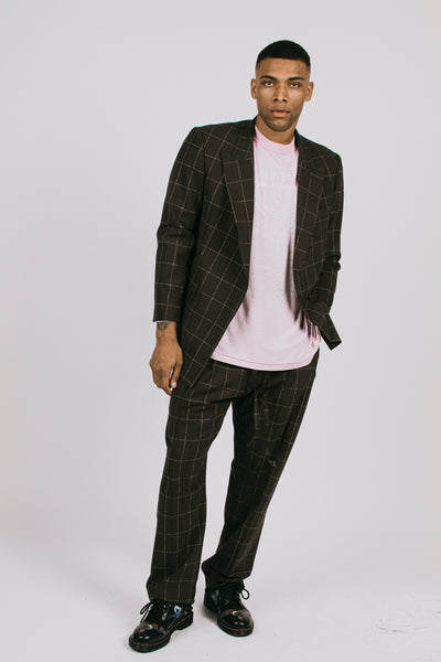 ROMAN PLAID MARTINE JACKET