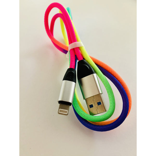 Rainbow Charger Cable 1m