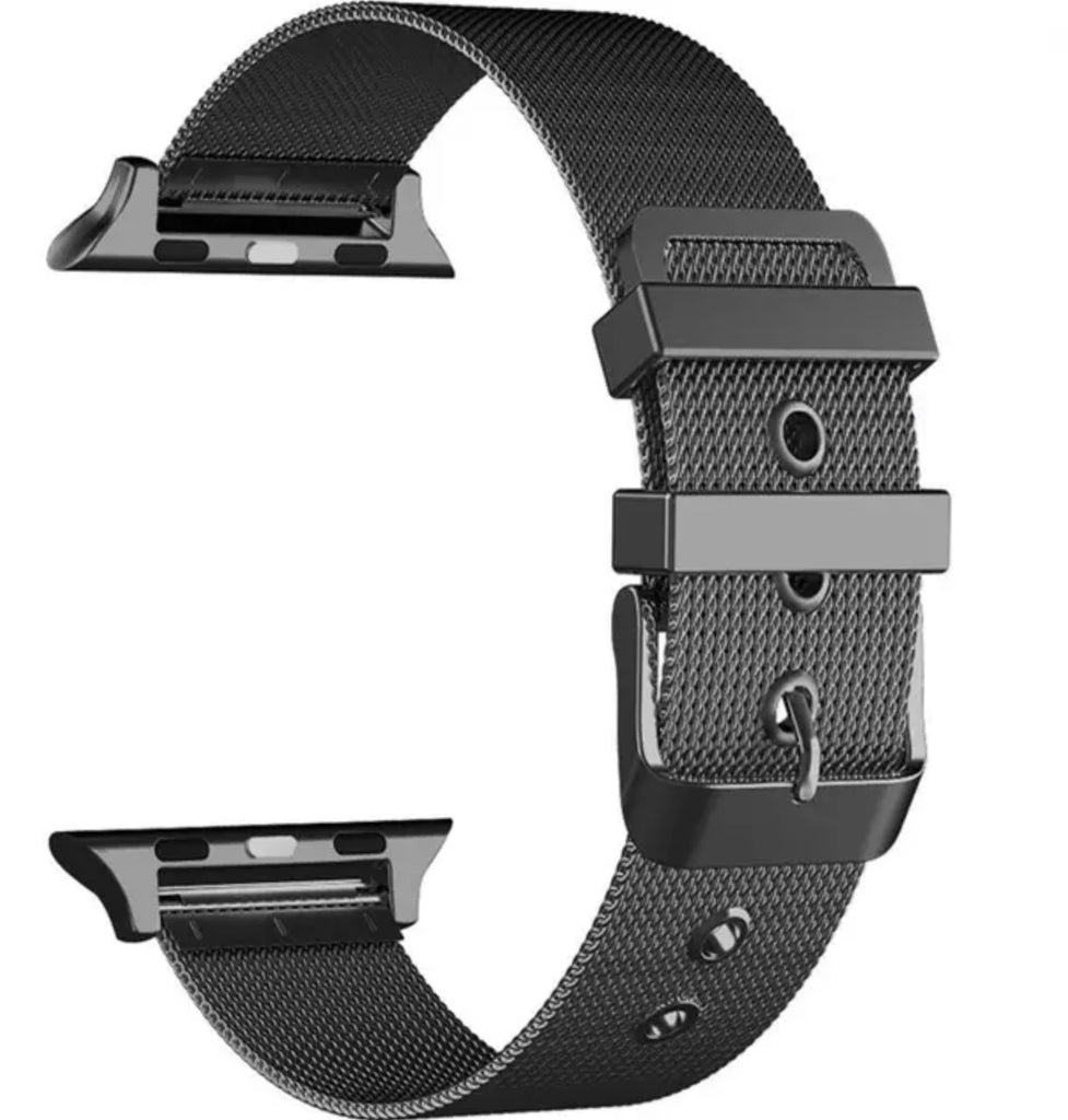 Milanese Apple Watch band with buckle