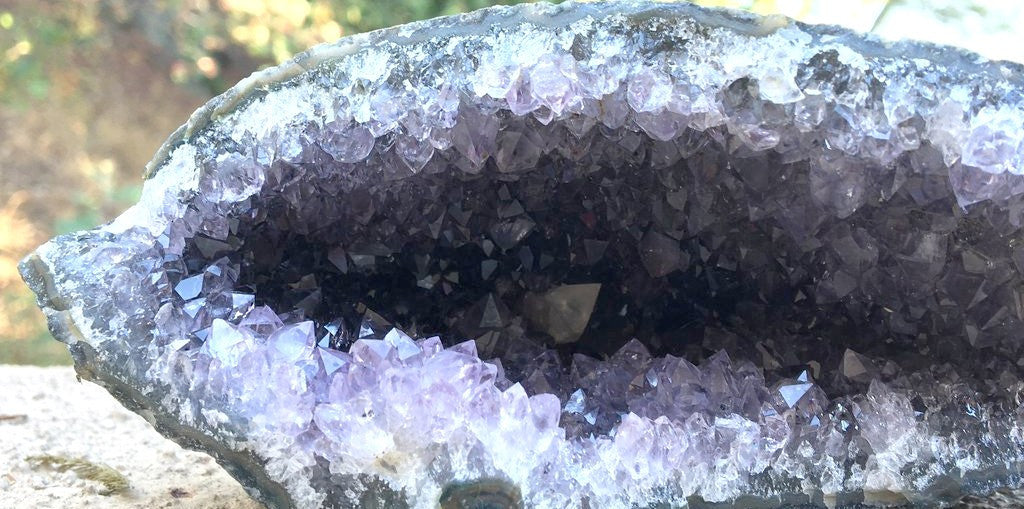 Living in a Crystal Cave