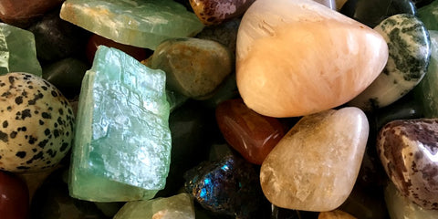 mix of tumbled stones