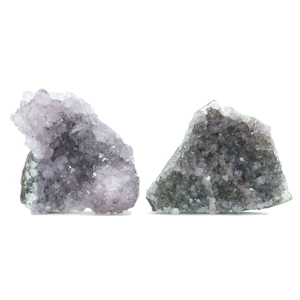Amethyst Geode 03 - Purple Cluster Stone (3.7 Inches)
