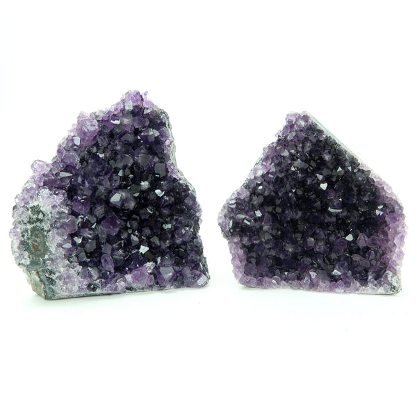 Amethyst Geode 06 - Purple Cluster Stone (4.7 Inches)