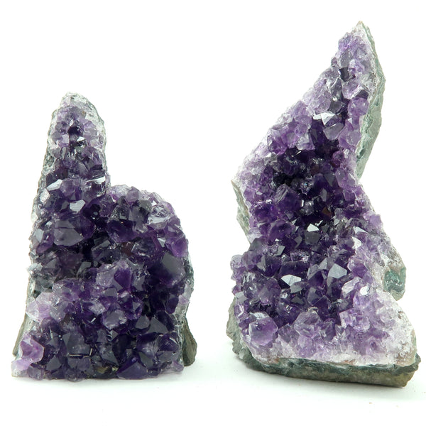 Amethyst Geode 07 - Purple Cluster Stone (4.2 Inches)