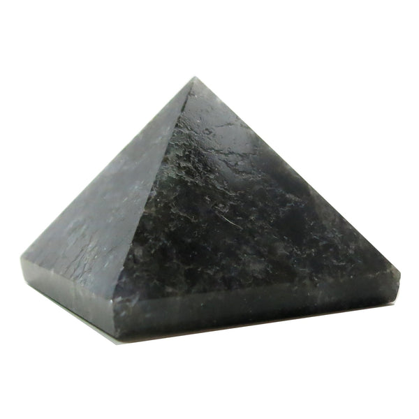 Aventurine Pyramid 04 Dark Blue Sacred Geometry Stone (2.4 Inches) - I Dig Crystals