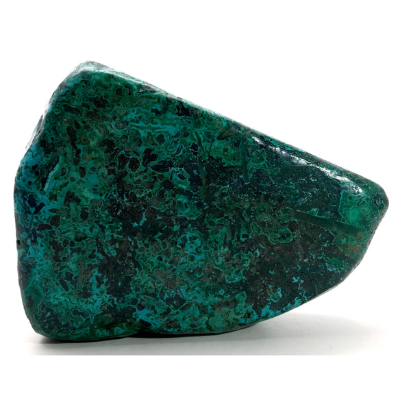 Chrysocolla Mineral 04 Blue Green Polished Malachite Stone - I Dig Crystals