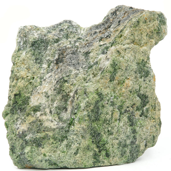 Epidote Mineral 03 - Green Quartz Raw Stone (5.5 Inches)