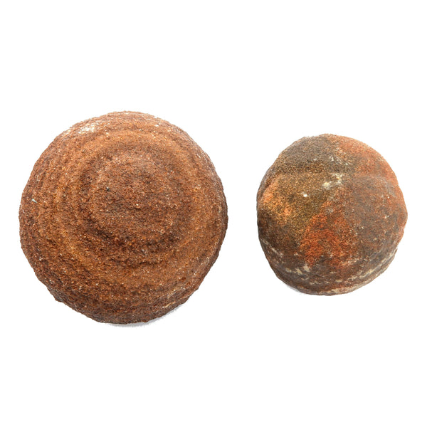 Moqui Balls 02 - Set Brown Shaman Stone Male Female (2-2.5 Inches)