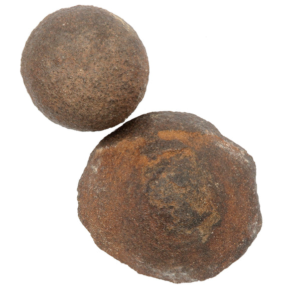 Moqui Balls 05 - Set Brown Shaman Stone Male Female (2.4-4 Inches)