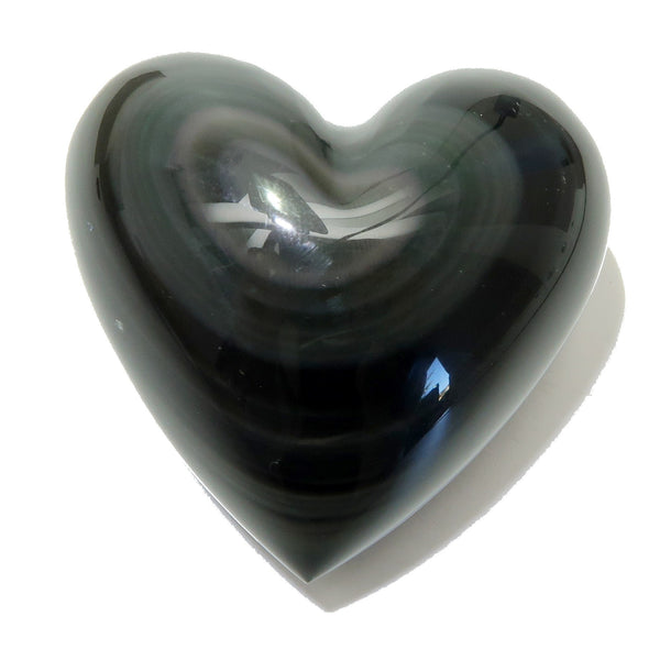 Obsidian Heart 28 Puffy Rainbow Black Protection (2 Inches)