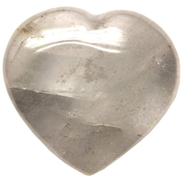Quartz Heart 32 Rainbow Iron Stone (3 Inches) - I Dig Crystals
