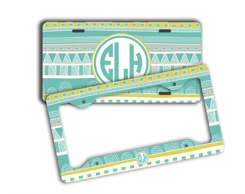 AZTEC AUTO ACCESSORIES - FRONT LICENSE PLATE OR FRAME PERSONALIZED
