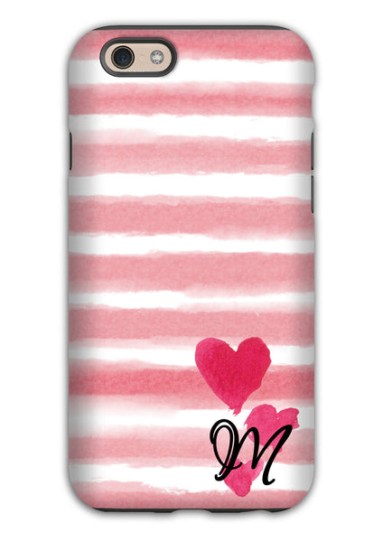 Tough Iphone case with rubber liner