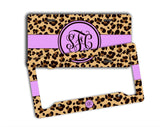Purple animal print - Personalized car decor for women - Gifts for Her