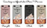 Kitten iPhone case clear with design  - You had me at meow - Gift for cat lovers