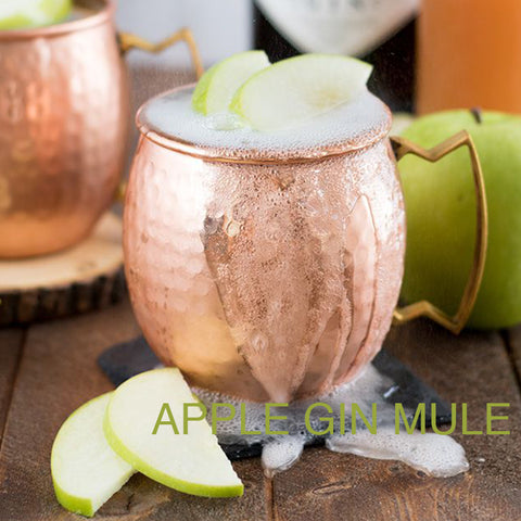 apple gin mule