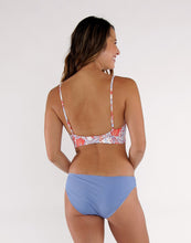 Load image into Gallery viewer, St. Barth Reversible Bottom : Lily/Iris Rib