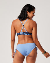 Load image into Gallery viewer, Mustique Reversible Bottom : Navy Haku/Iris