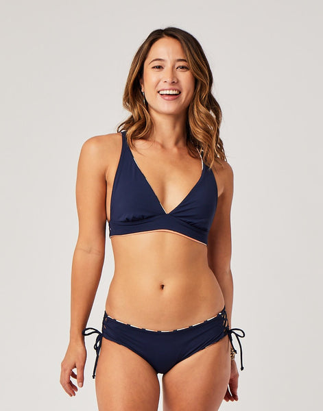 Mustique Reversible Bottom : Rainbow/Navy