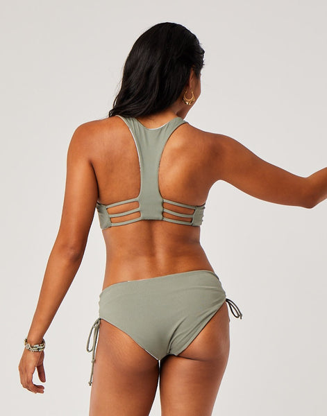 Mustique Reversible Bottom : Paradise/Moss