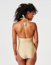 Load image into Gallery viewer, Alexandra One Piece: Gold Shimmer