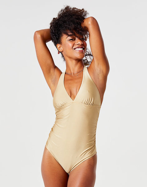 Alexandra One Piece: Gold Shimmer