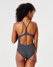 Load image into Gallery viewer, Cali One Piece: Black Bayside Stripe