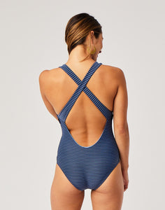 Inverness One Piece : Navy Bayside