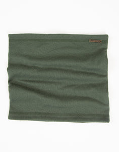 Brushed Juneau Neck Warmer: Hunter