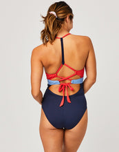 Load image into Gallery viewer, Dahlia One Piece: Navy Multi