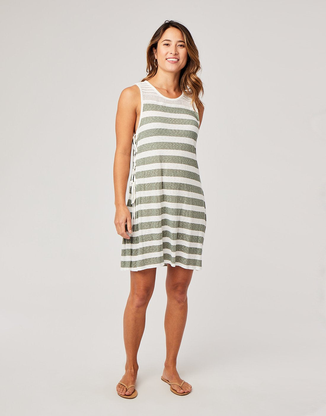 Kalli Cover Up : Moss Stripe