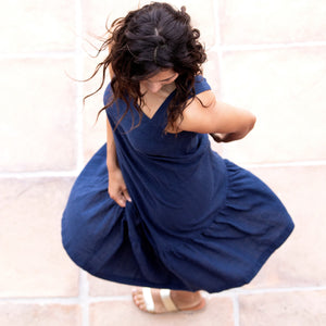 Rayne Dress : Navy