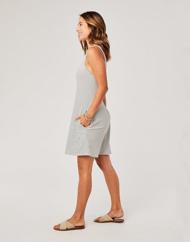Payson Dress : Cloud Bayside Stripe