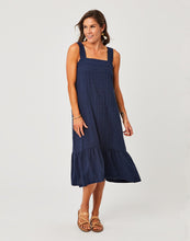 Load image into Gallery viewer, Rayne Dress : Navy