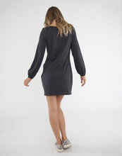 Load image into Gallery viewer, Lenora Dress: Black Iron