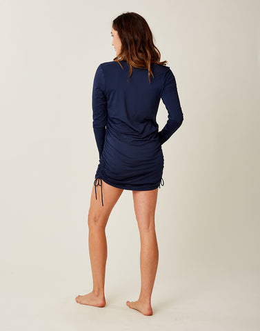 Cody Sun Dress: Navy