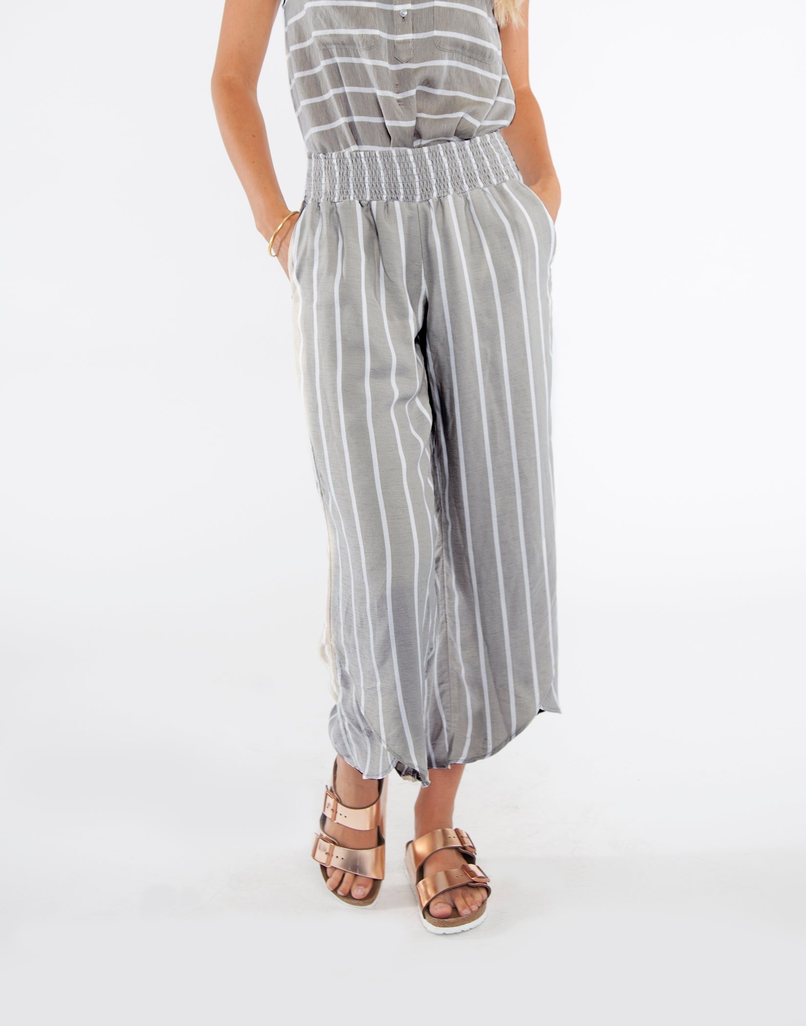 Everly Pant : Charcoal Heather